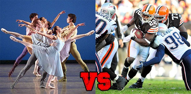"Sports: Dance VS Football ""Who Has More Endurance?"""