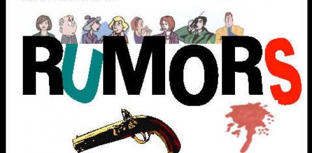 Fall Play: Rumors, opening this Thursday!