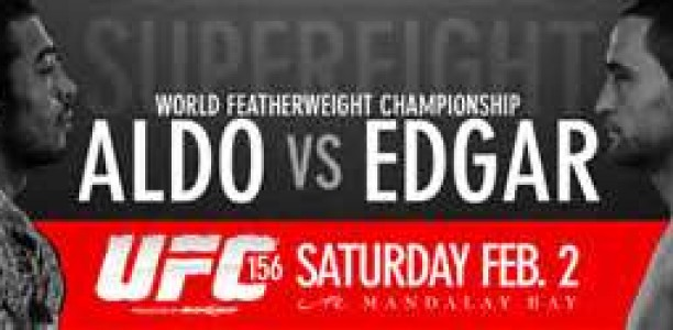 Weekend Plans: UFC 156, Where the Warriors Meet!