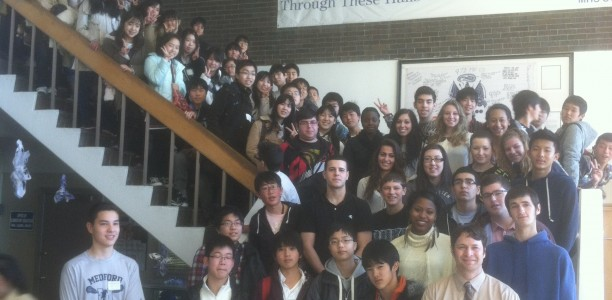Japanese Students Visit MHS