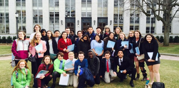 Medford High Goes to Model UN